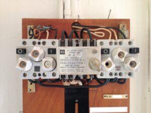 Elvagten 43.A, en løs ledning i en eltavle skabte problemer, og lyset begyndt at blinke, så blev elbagten kontaktet.